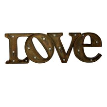 Studio Décor Marquee Sign, Love